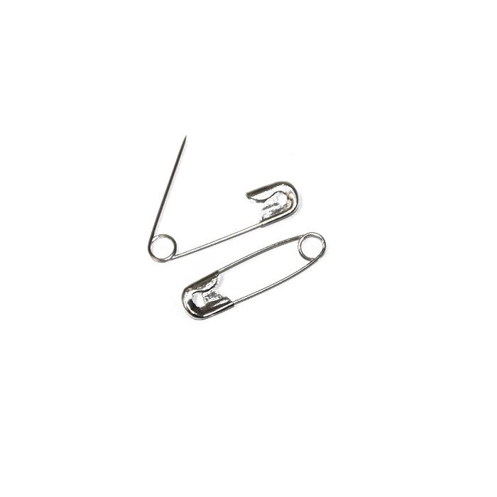 Varnostna zaponka, 38mm, 13461, srebrna