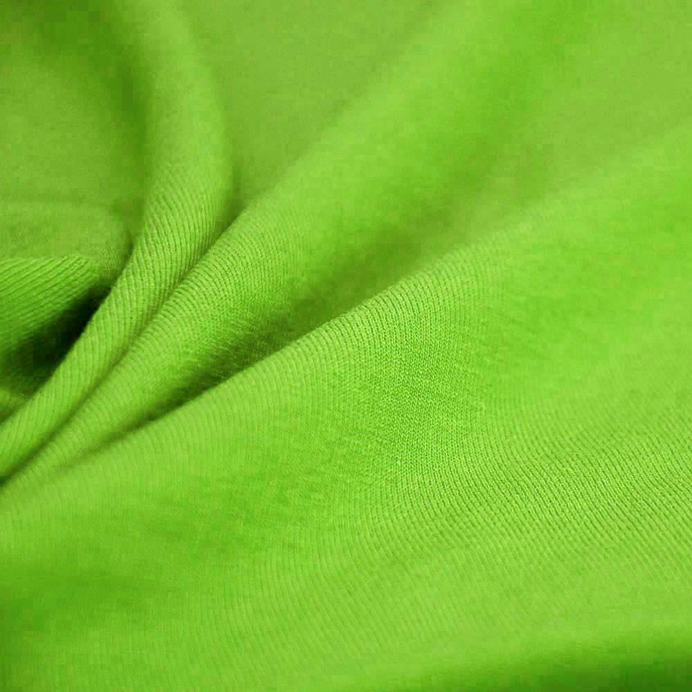 Jersey, bombaž, 13335-17A, svetlo zelena
