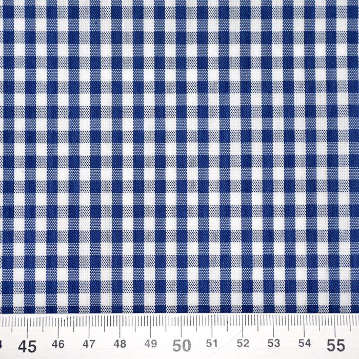 Tkanina, karo, 14182-29, modra