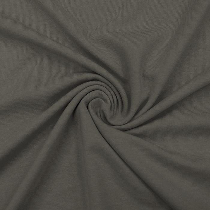 Jersey, viskoza, luxe, 12961-411, rjavo zelena