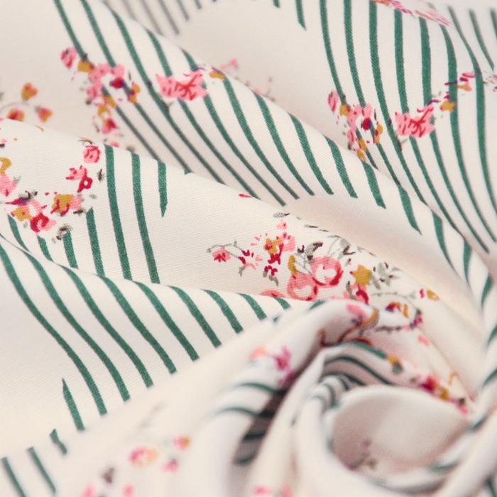 Bombaž, poplin, cvetlični, 13175-2