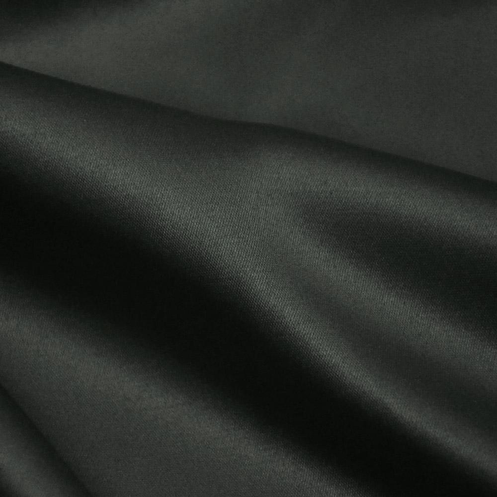 Saten, bombaž, poliester, 23_10582, temno siva
