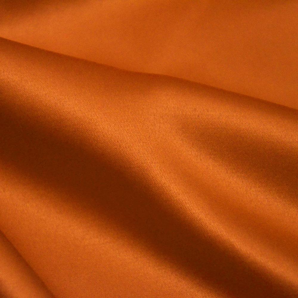 Saten, bombaž, poliester, 05_10584, oranžna