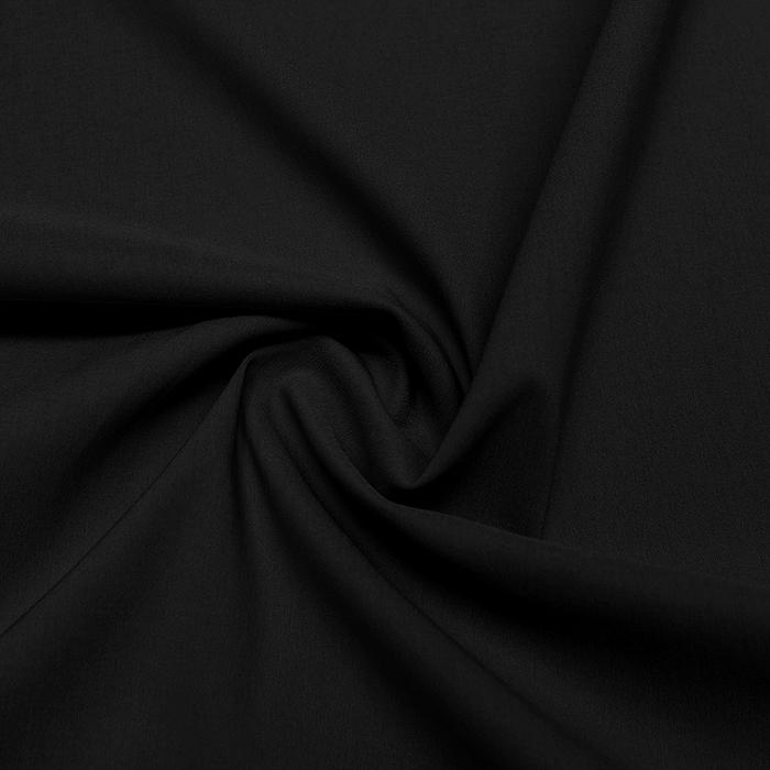 Bengalin, elastična tkanina, 13067-269, črna