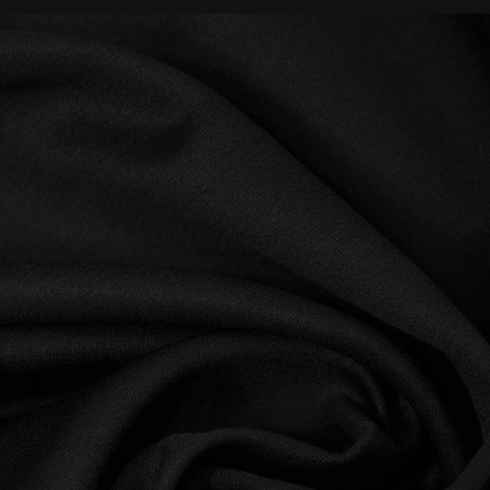 Tkanina, bombaž, poliester, 14850, črna