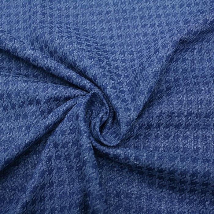 Jeans, pepita, 15147-002, modra