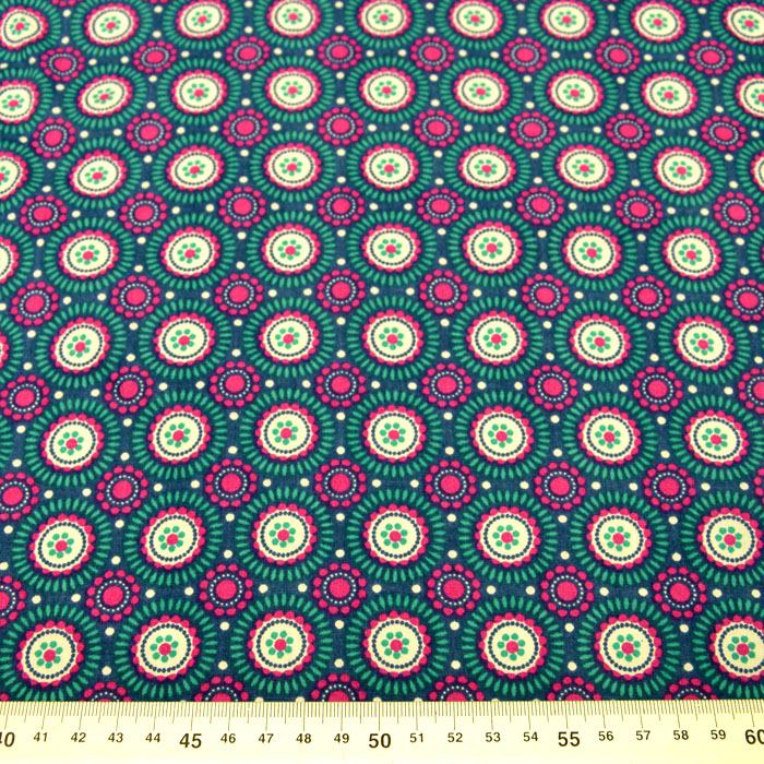 Bombaž, poplin, krogci, 15150-024