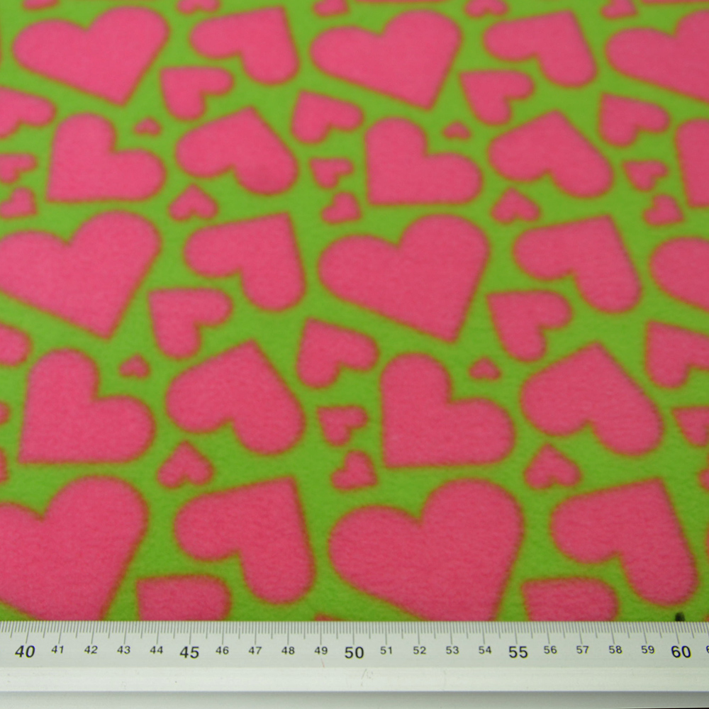 Velur, srčki roza, 15155-223