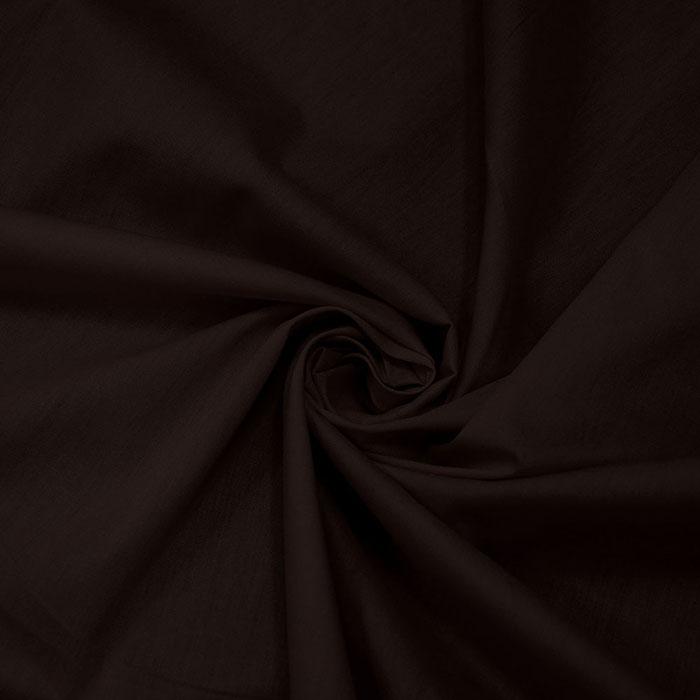 Bombaž, poplin, 5334-058, temno rjava
