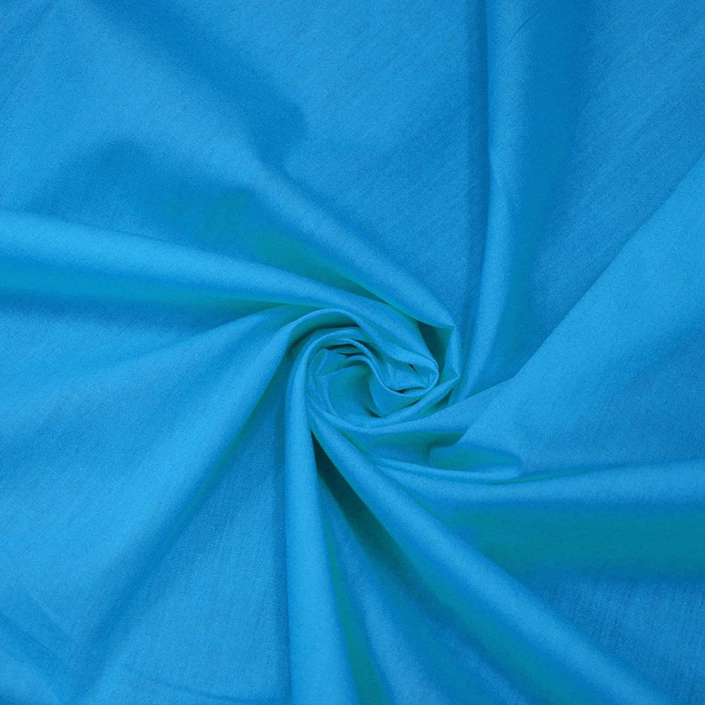 Bombaž, poplin, 5334-104, modra