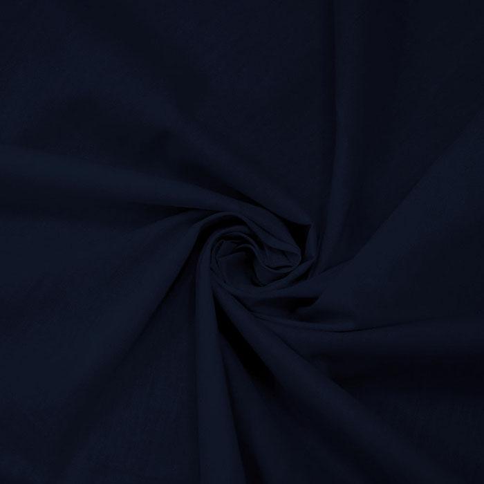 Bombaž, poplin, 5334-208, temno modra