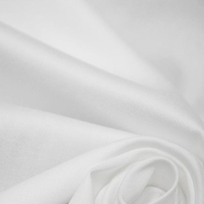 Saten, bombaž, 01_15268-050, bela
