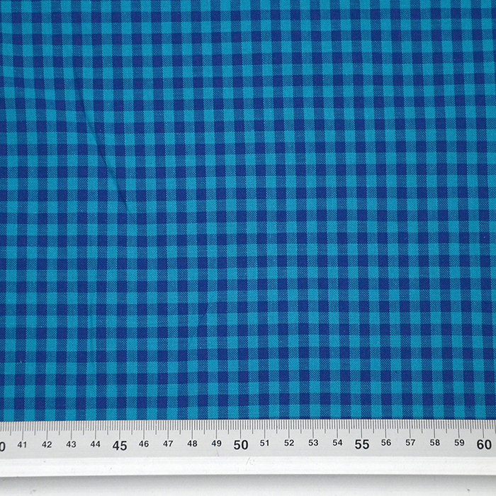 Bombaž, karo, 15270-010, modra