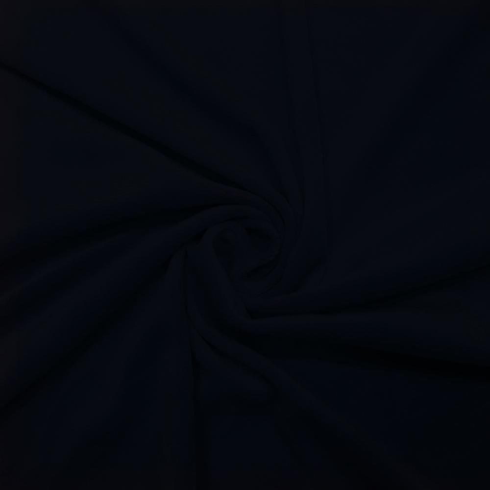 Pliš bombažen, 15085-1504, temno modra