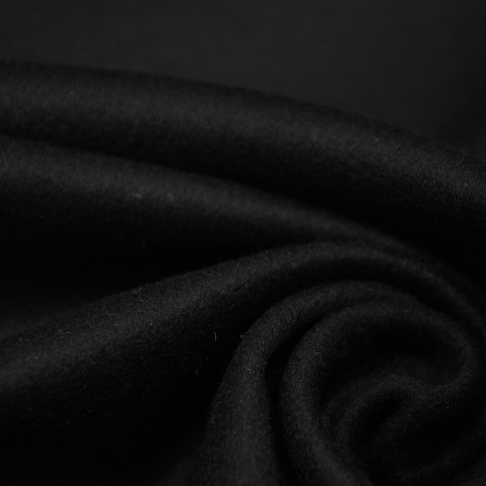 Volna, kašmir, 15390-8, črna