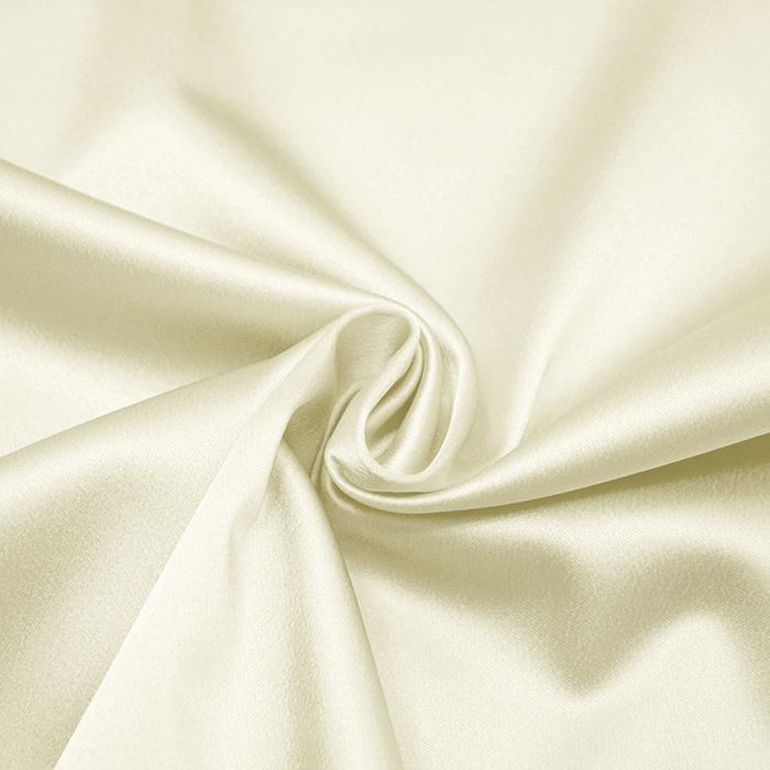 Saten tkanina z elastanom, 15405-21, smetana