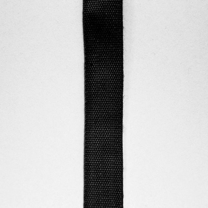 Trak, bombaž,15mm, 15455-2, črna