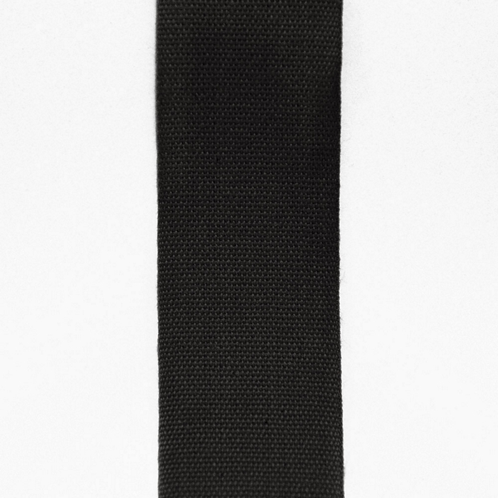 Trak, bombaž, 30mm, 15456-2, črna