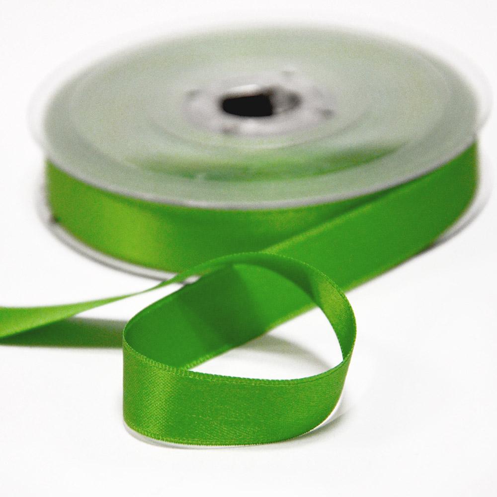 Trak, saten, 15mm, 15459-1249, zelena
