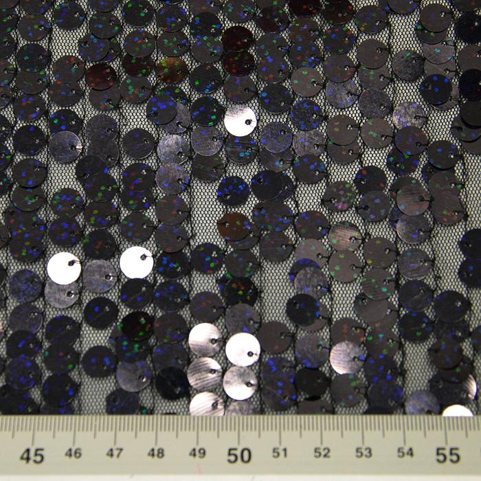 Bleščice, gliter, 10737-4, črna