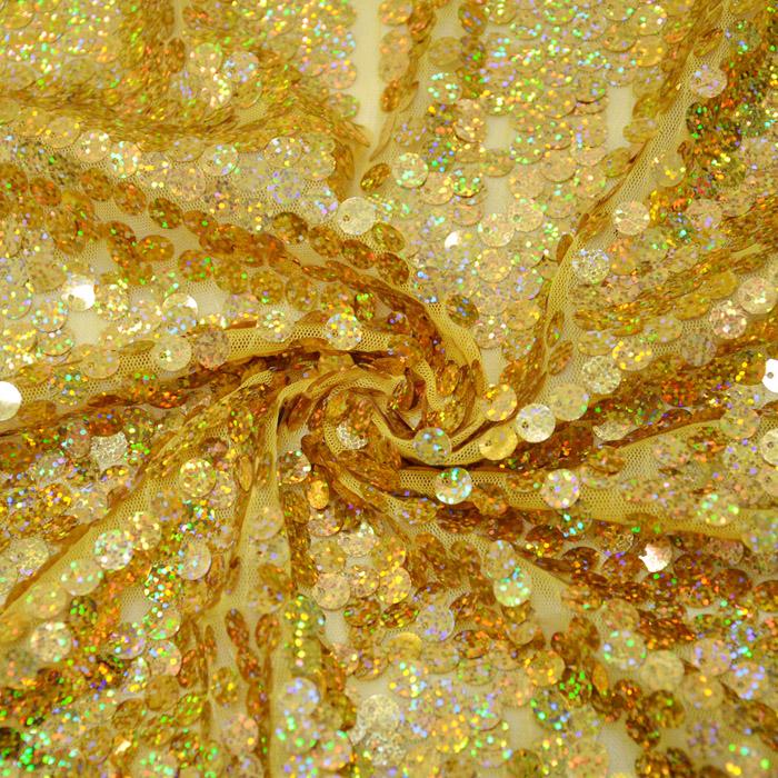Bleščice, gliter, 10737-2, rumena