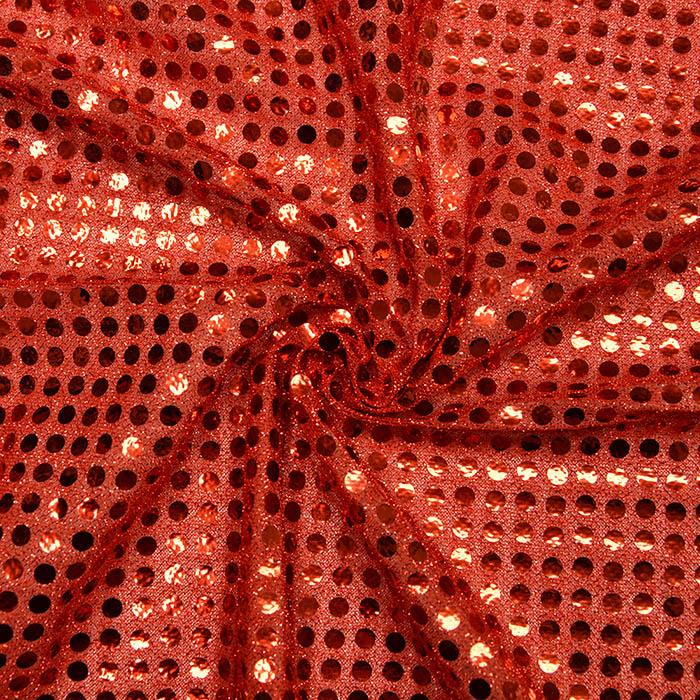 Bleščice, glitter, 2979-4, rdeča
