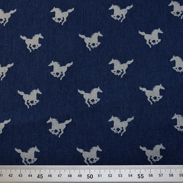 Jeans, konji, 15557-008, modra