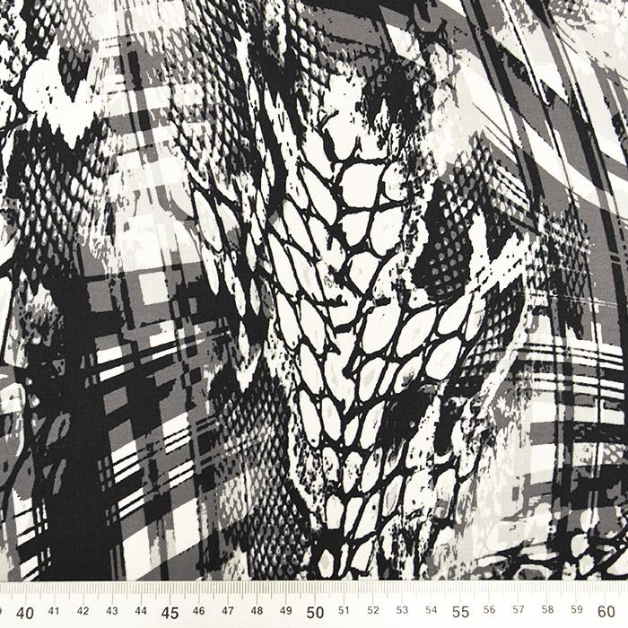 Bombaž, tisk, abstrakten, 15605-069