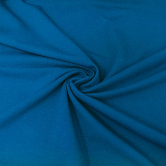 Jersey, bombaž, 13335-40, modra