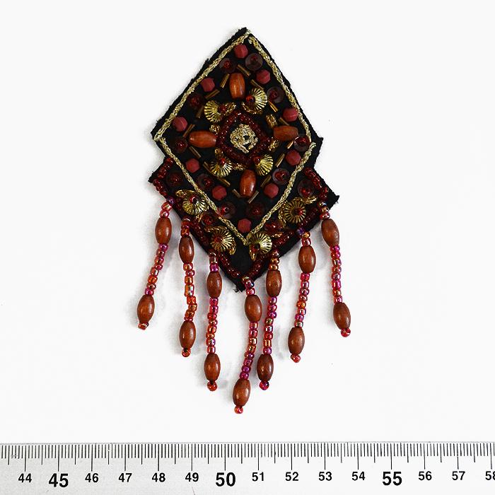 Prišivak, umetak, šljokice, 14165-B2
