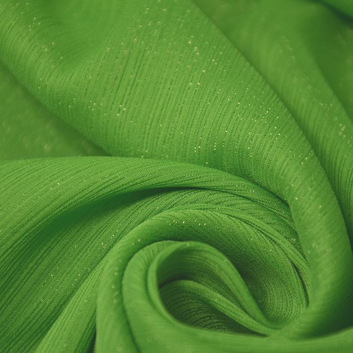 Šifon, mečkanka, 2650-116, zelena
