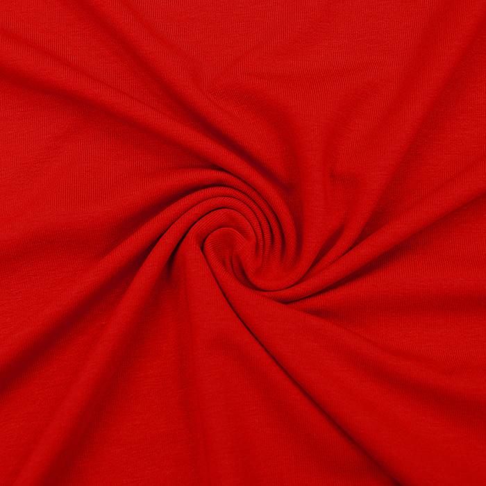 Jersey, viskoza, 12961-620, rdeča