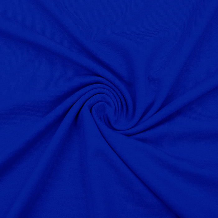 Jersey, viskoza, luxe, 12961-240, modra