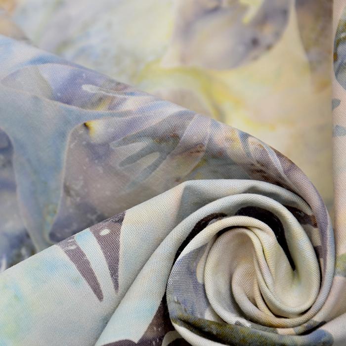 Bombaž, poplin, batik, cvetlični, 15652-06