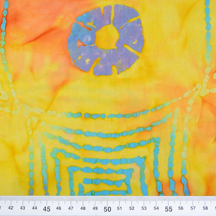 Bombaž, poplin, batik, abstraktni, 15656-43