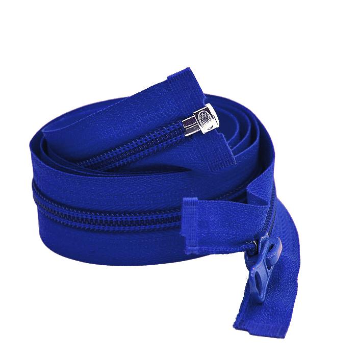 Zadrga, deljiva 70 cm, 6 mm, 2052-546, modra