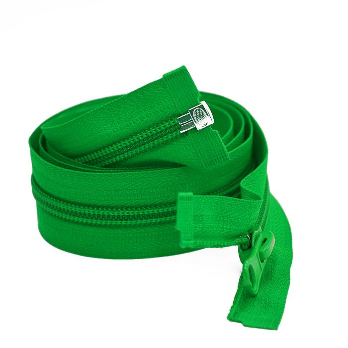 Zadrga, deljiva 70 cm, 6 mm, 2052-652, zelena
