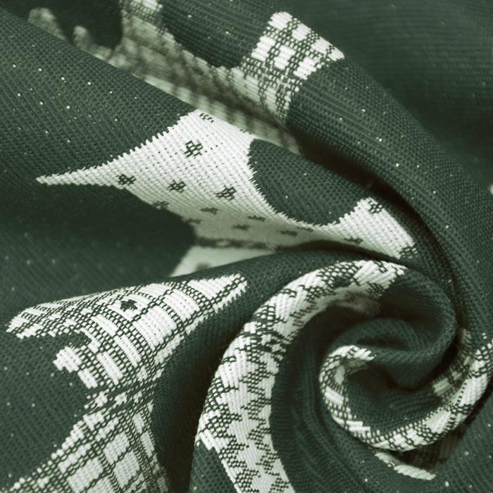 Deko žakard, živalski, 15771-37, zelena