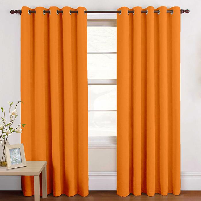 Deko bombaž, Loneta, 15782-146, oranžna