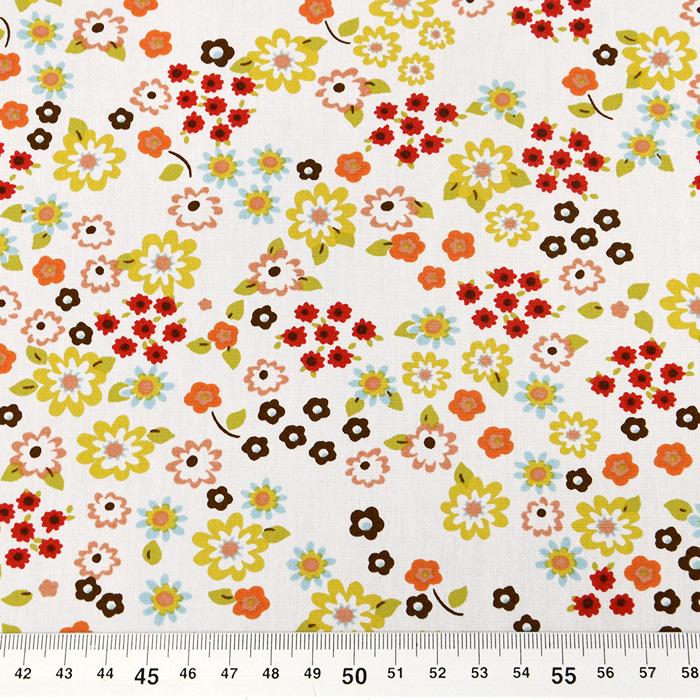 Bombaž, poplin, cvetlični, 11381
