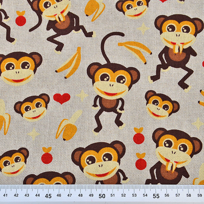 Deko, tisak, majmuni, 15188-24