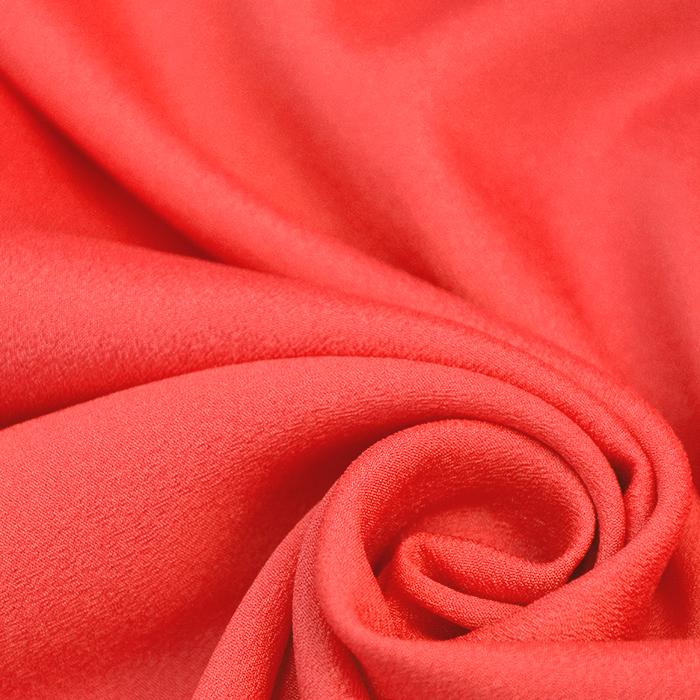 Šifon krep, poliester, 13176-72, fluo oranžna