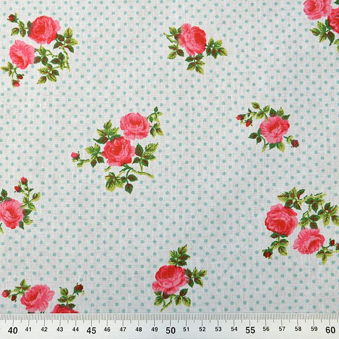 Bombaž, poplin, cvetlični, 15914-4