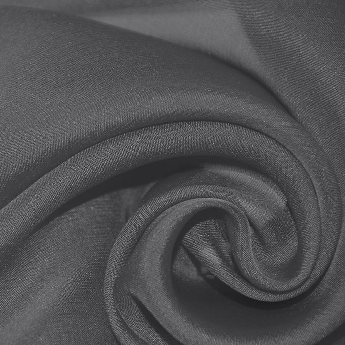 Svila, šifon, 15935-6, siva