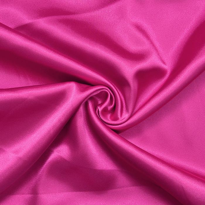 Saten, poliester, 3093-118, roza