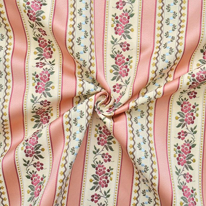 Deko žakard, Bidermajer, 15953-3, roza