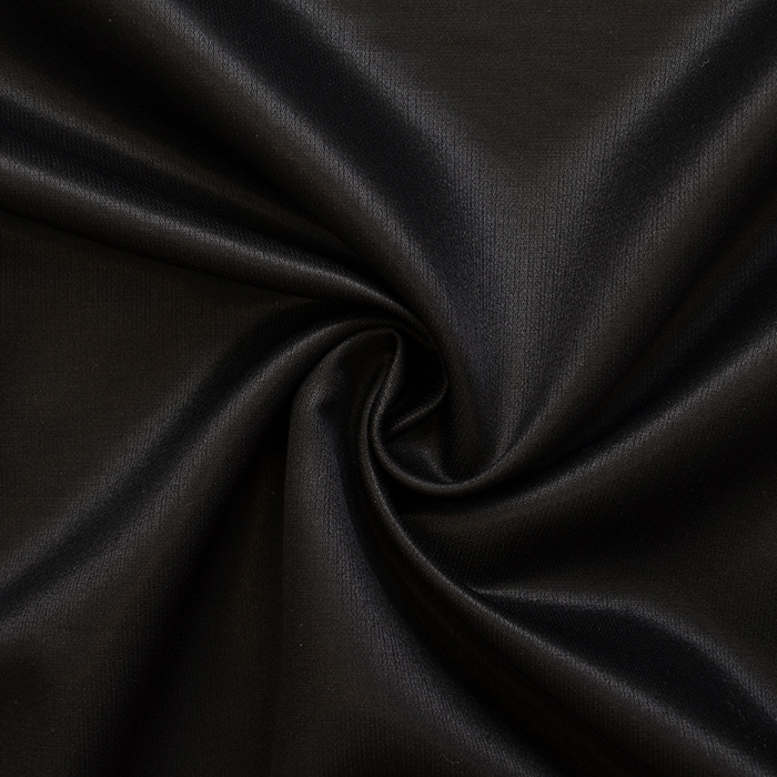 Tkanina, svila, volna, 13263-6, črna