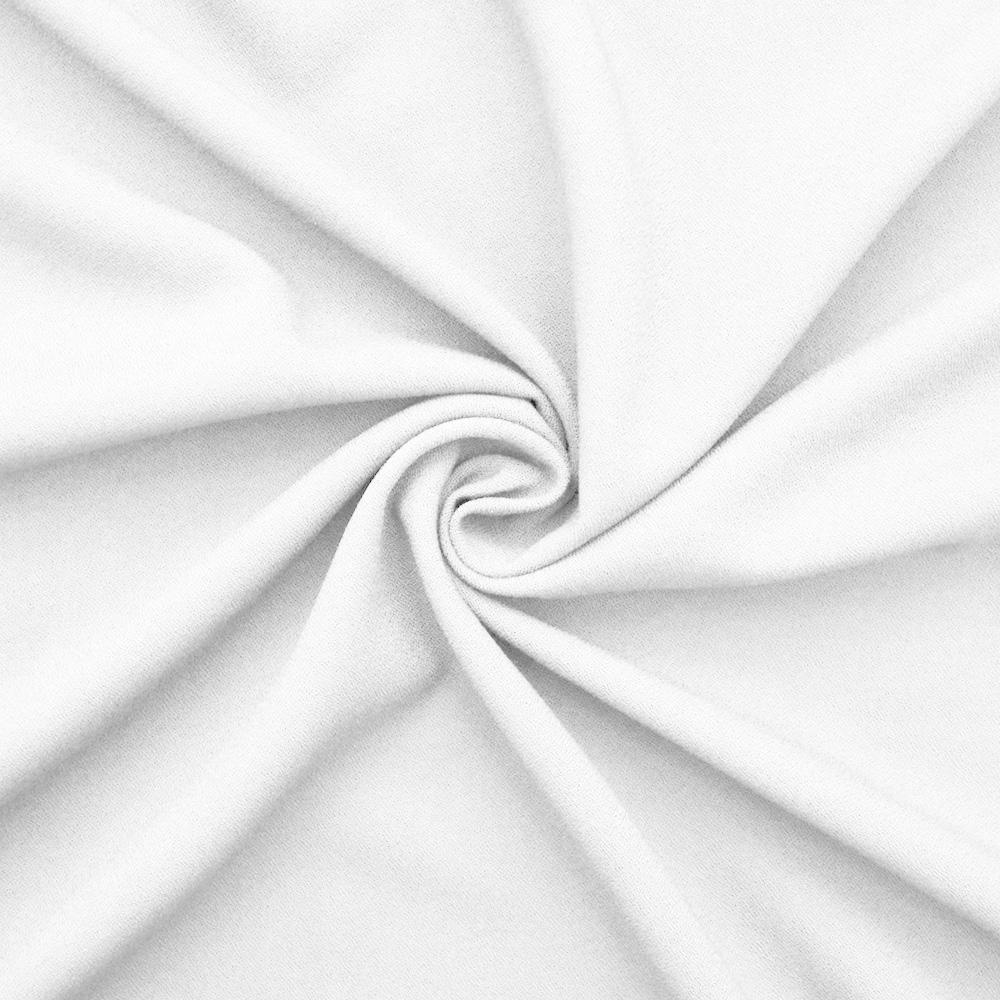 Žoržet, kostimski, viskoza, 15965-050, bela