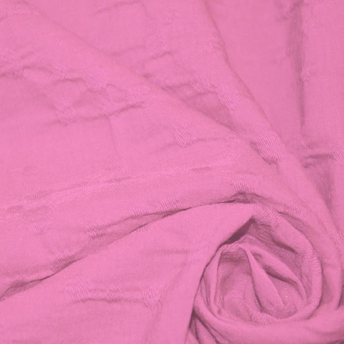 Bombaž, poplin, elastan, 15997-375, roza