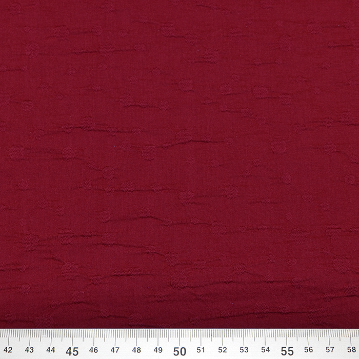 Bombaž, poplin, elastan, 15997-458, rdeča